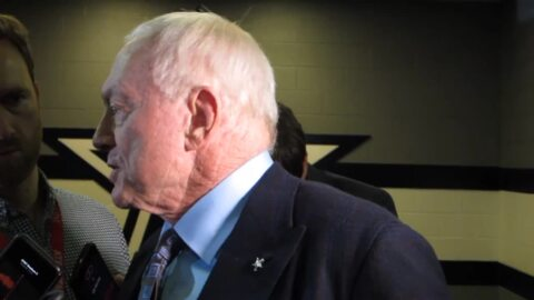 Jerry Jones reacts to Dallas Cowboys' loss to Minnesota Vikings