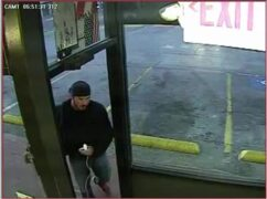 Surveillance video of person of interest in girl's attack