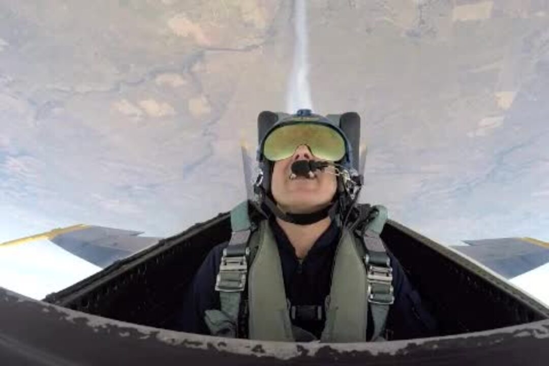 A ride with The Blue Angels results in whiplash, blacking out, getting sick and eternal fun