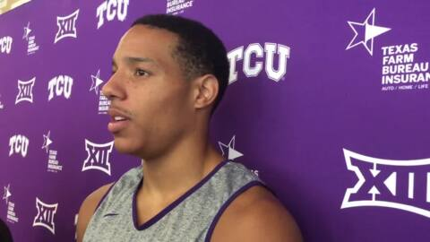 TCU's Desmond Bane sees good things ahead for Frogs