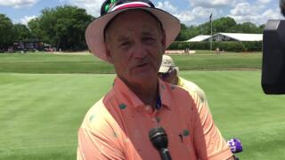 Bill Murray in Fort Worth for Colonial golf tournament