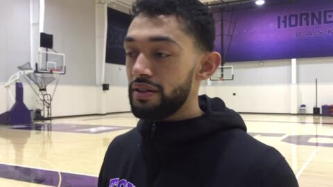 TCU's Alex Robinson talks rivalry game vs. SMU