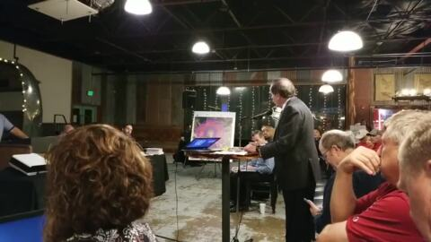 State Rep.  Bill Zedler speaks out against concrete plant