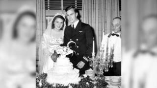 George HW Bush was married to Barbara for 73 years. Take a look at their 1945 wedding and honeymoon photos