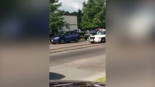 Houston police heard ordering woman's hands up: 'Pretend like we're going to shoot you'