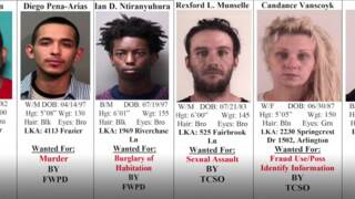 Tarrant County's 10 Most Wanted Criminals, May 23