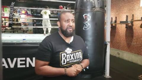 Grady Banks, manager of Errol Spence Jr.'s first gym, reacts to the news of Spence's car crash