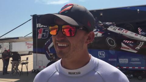 'Driving in an oven.' IndyCar drivers battle Texas heat during tire test at TMS