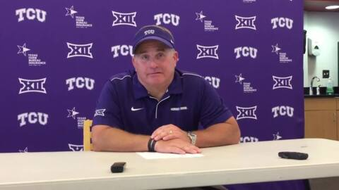 TCU's receiving corps suffers setback with loss of Dylan Thomas