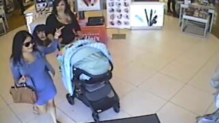 Baby-stroller shoplifters in Arlington caught on video