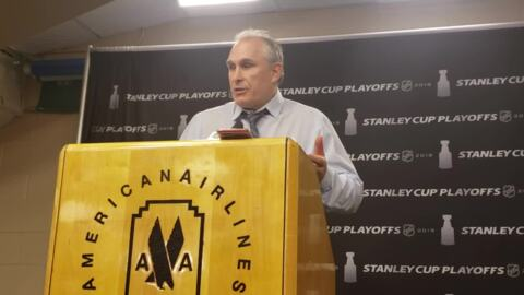 Blues coach Craig Berube said Stars 'wanted it's more in Game 4