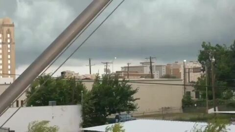 Storms that rolled through Tarrant County darkened Father's Day celebrations for many