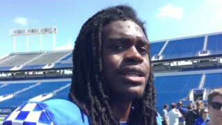 Kentucky quarterback Terry Wilson: I really can't overthink all this