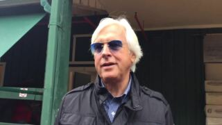 Bob Baffert sees Good Magic as top competition for Justify in Preakness Stakes