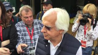 Bob Baffert says it's on to the Belmont for Preakness winner Justify
