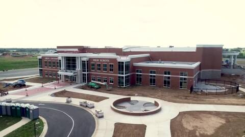 A $90 million state-of-the-art high school brings a 'healthy rivalry' to Scott County