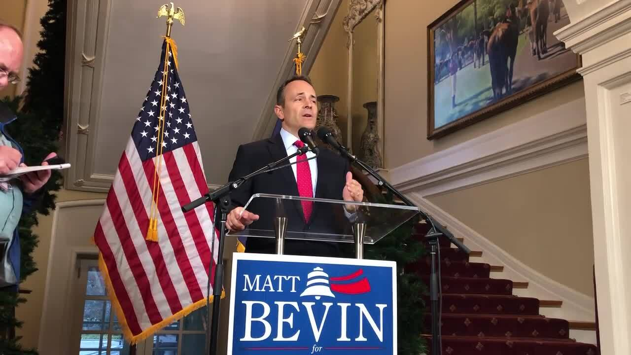 Kentucky Gov. Matt Bevin asks for recanvass in governor election. What happens next?