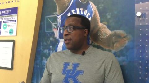 UK's Chin Coleman: 'I have a problem with shopping'