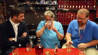 Unboxing the Bourbon: Taste comparison between Blade & Bow and the 22-year version
