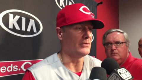 Cincinnati Reds manager says team has a chance in second half