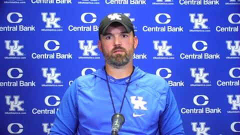 What does UK's defensive coordinator think of the Auburn offense?