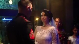 Couple marries at Coba