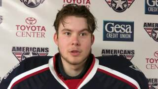 Tri-City Americans goalie expects goods things for his team