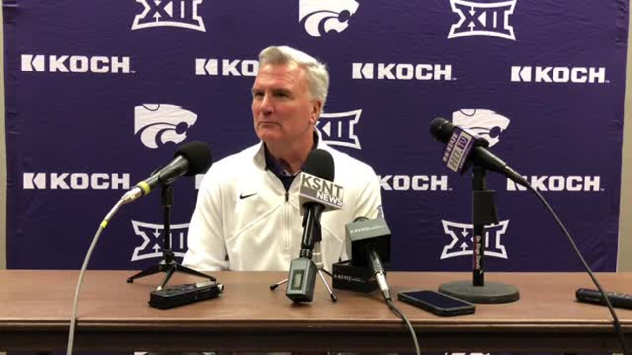 Why K-State coach Bruce Weber is considering a new starting five against Texas Tech