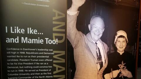 Eisenhower museum reopens in Abilene with 25,000 square feet of new exhibits