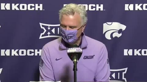 Bruce Weber talks after Kansas State beats No. 7 Oklahoma