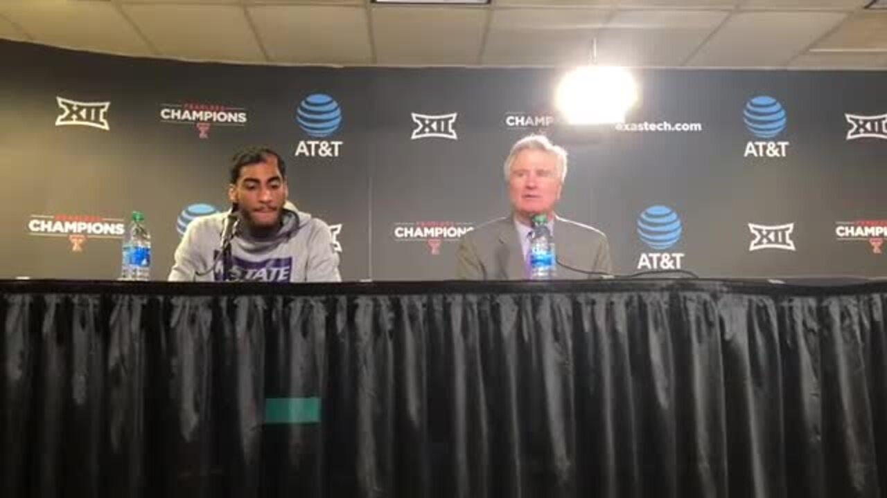 Big 12 reprimands K-State's Bruce Weber for criticizing refs on block/charge calls
