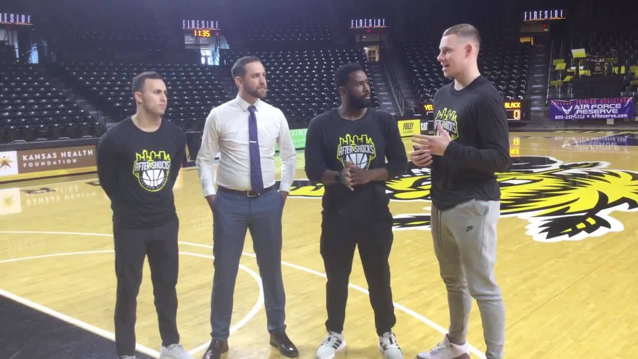 'No place like home.' Wichita State alumni team begins practices at Koch Arena