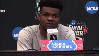 KU's Udoka Azubuike excited about possibility of mother seeing him in Final Four