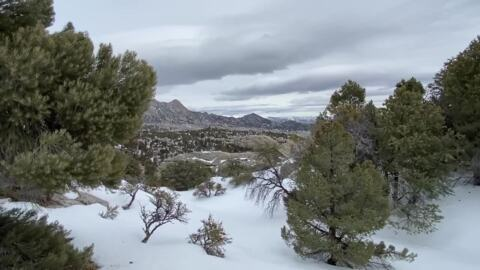 See Idaho's City of Rocks National Preserve by snowshoe