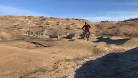 Mountain bikers try out Boise's new bike skills park