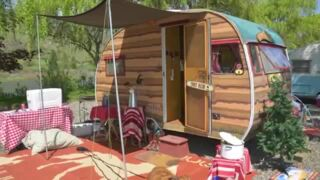 'They're just so dang cute, they're irresistible': Vintage camping trailers turn heads