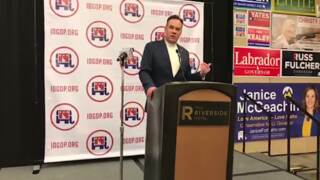 Russ Fulcher accepts Republican nomination for US House seat in Idaho