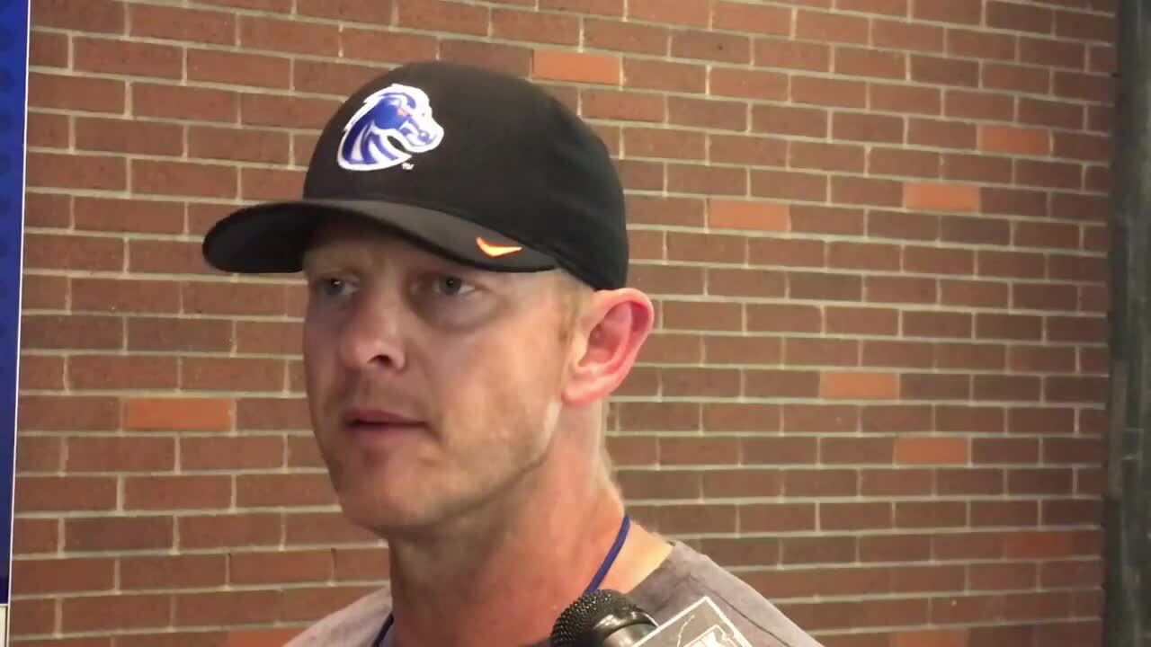 Harsin on Boise State's QB competition: 'I've got a pretty good idea of where I'm at.'