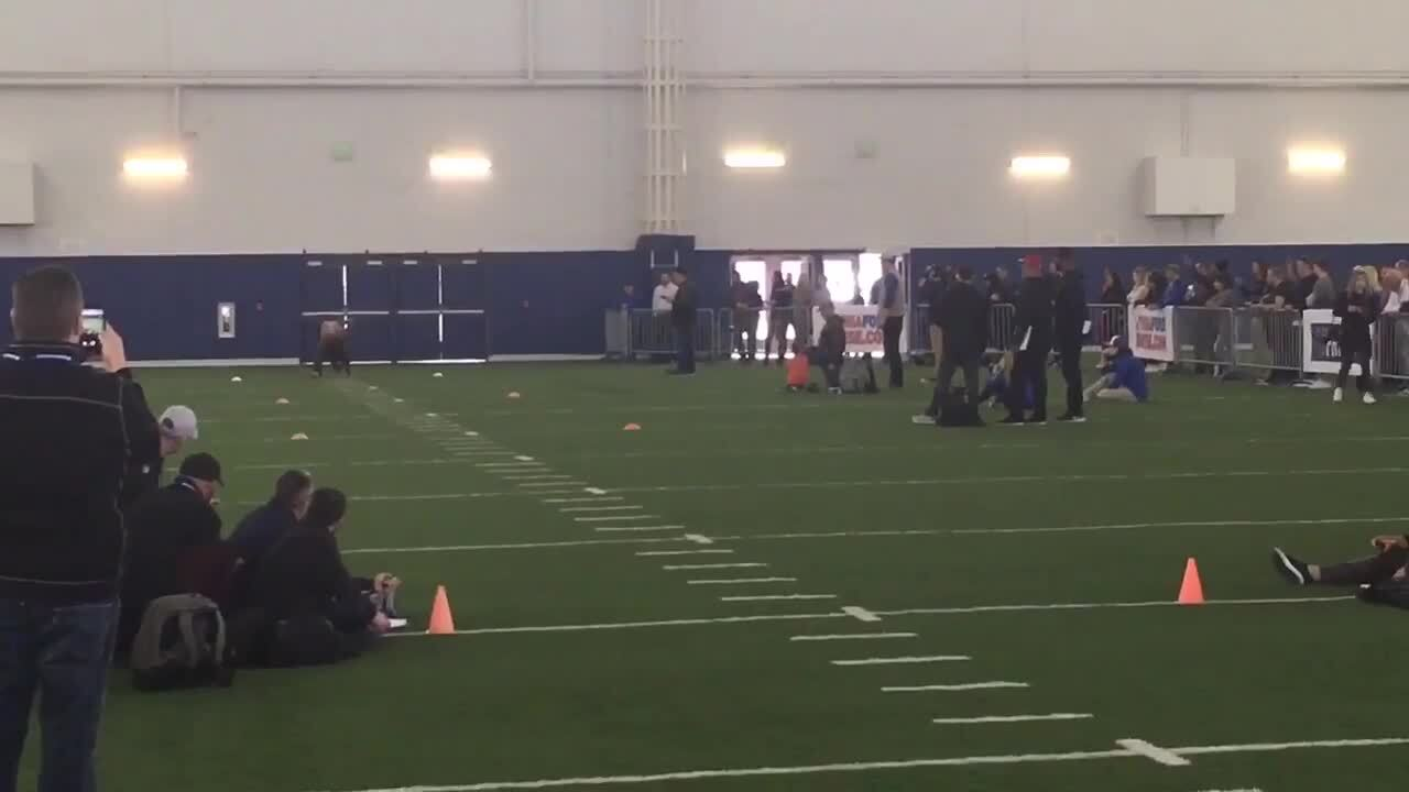 Watch Boise State's Mattison run the 40, Rypien throw at pro day for NFL scouts