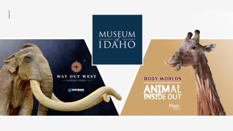Museum of Idaho new exhibits 20-second video 1-21-21