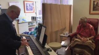 St. Luke's MSTI patient provides beautiful vocals to 'On the Street Where You Live'