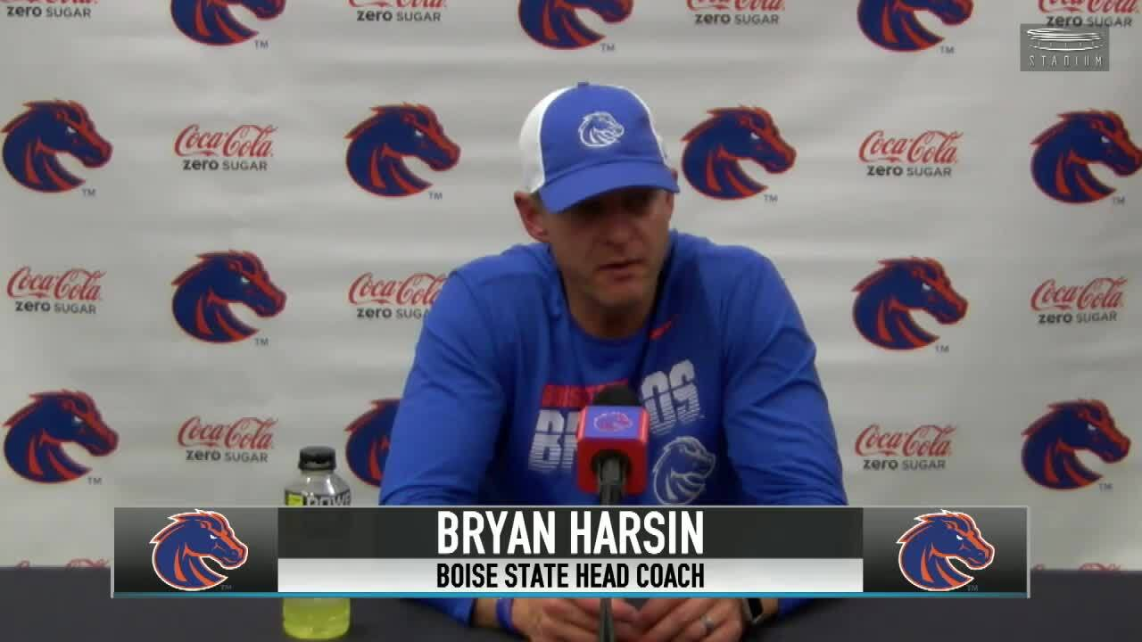 Boise State football holds fast in latest AP Top 25 poll; moves up in coaches' poll