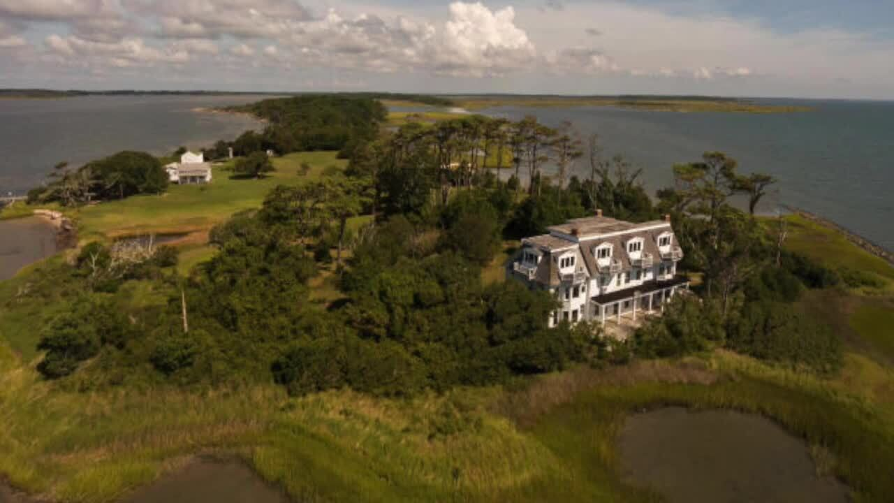 This private island is for sale off the North Carolina coast