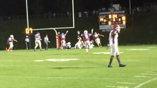 Davie County's Cody Hendrix returns fumble for touchdown