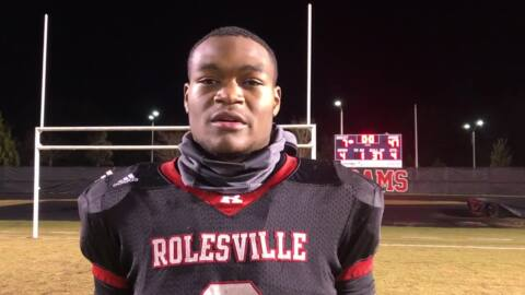 It's the Josh Pullen show as Rolesville runs over Panther Creek in NCHSAA playoffs