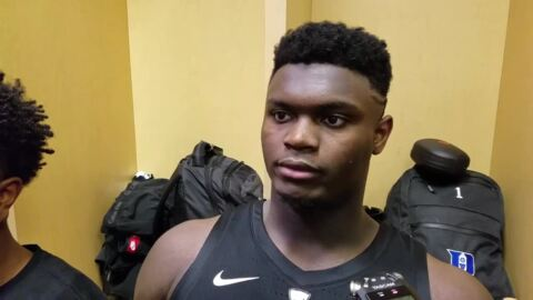 Zion Williamson adds 3-point shooting to his game against Wake