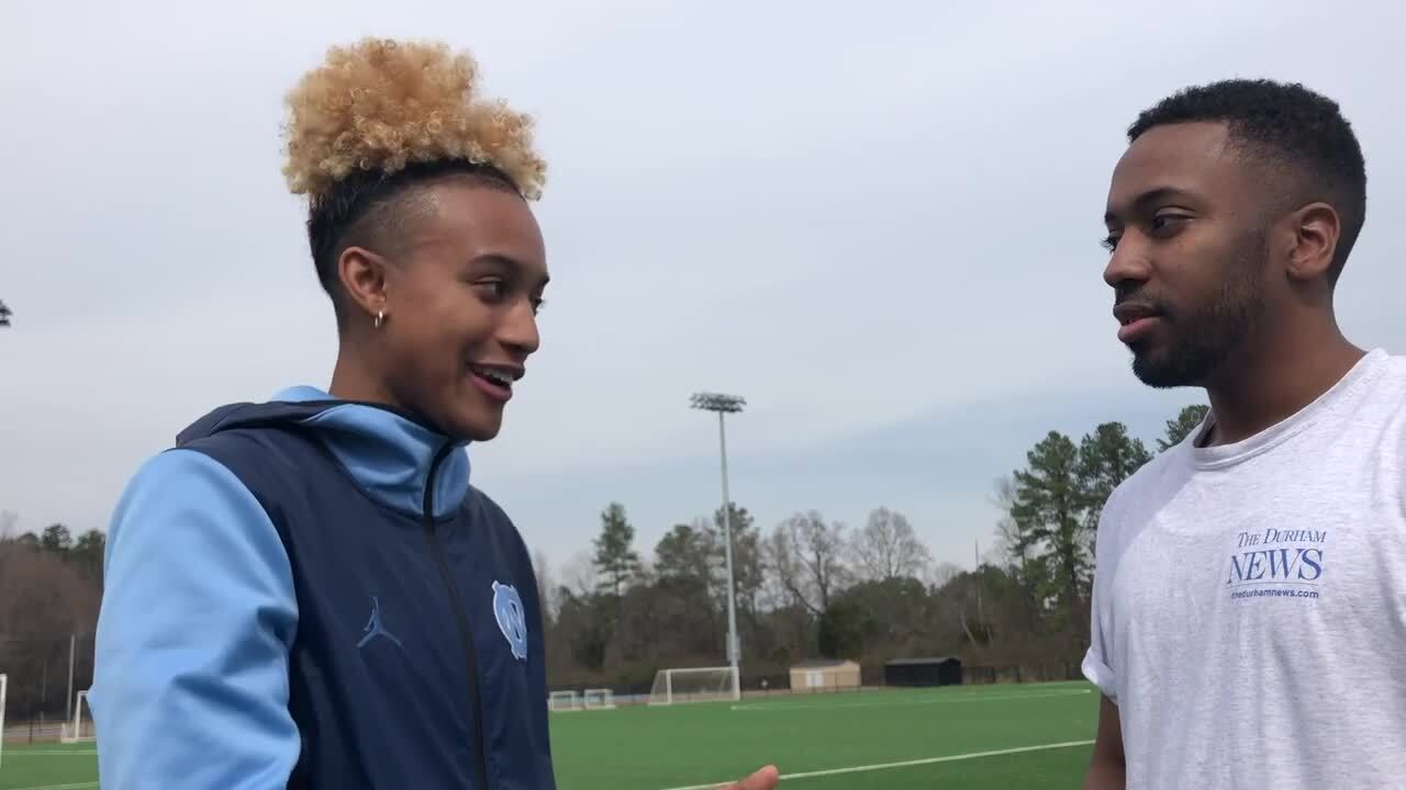 UNC Tar Heels' Paris Kea shares why soccer, not basketball