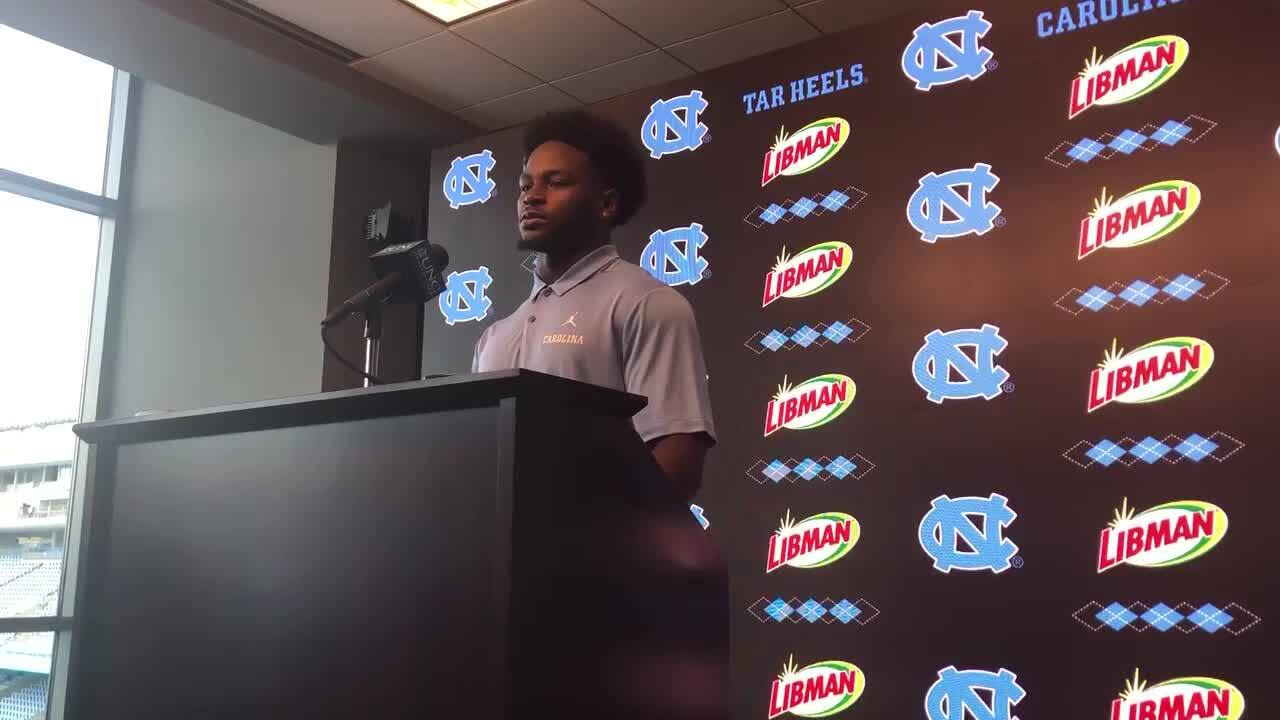 Javonte Williams almost quit football. Now he's a starting running back at UNC.