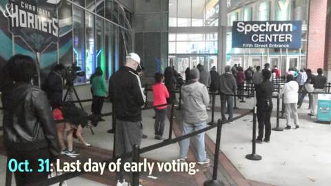 Timeline for NC mail-in ballots