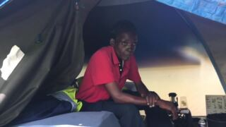 Homeless forced to leave their camp near downtown Durham